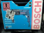 "*NEW* Bosch 1194AVSRK 8.0 Amp 1/2"" Corded Electric Hammer Drill"